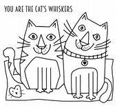 Woodware - Cats Whiskers - Clear Magic Stamp Set - FRS038
